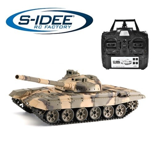 s-idee® 3938-1 Upgrade Version Russischer T-90 Panzer 1:16