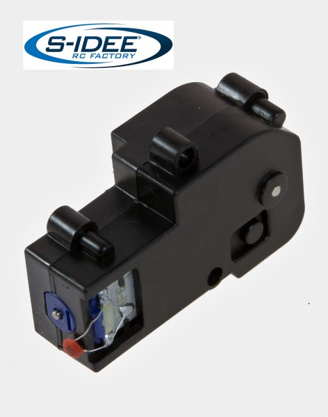 s-idee® S1580-012 Motor-Drehkranz Vollmetall Bagger 1:14 Huina 1580 580 Metallbagger