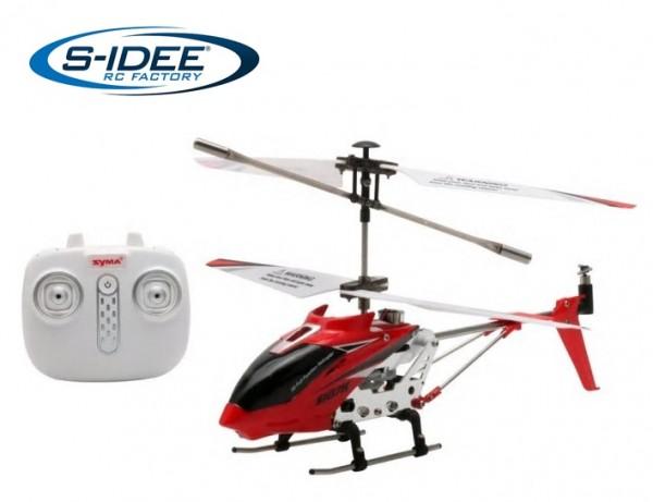 s-idee® Syma S107H Heli Hubschrauber RC ferngesteuerter Hubschrauber/Helikopter rot