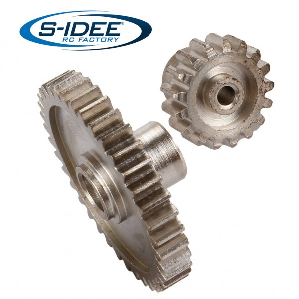s-idee® Zahnräder Zubehör Ersatzteil für RC-Modell A959 A959-A A959-B A979-B