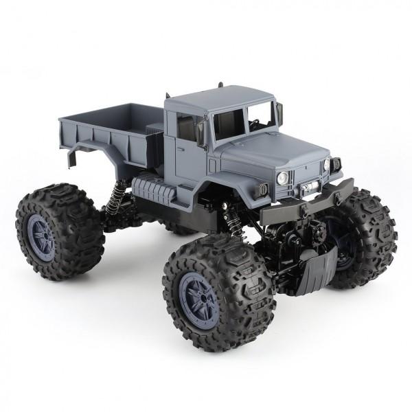 s-idee® S1231W 1/12 4WD 2.4G wasserdichter Crawler mit Beleuchtung ferngesteuert Militär RC Truck