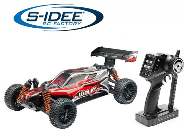 s-idee® 8138 Wolf 2 RC Brushless Offroad Buggy mit 2,4 GHz