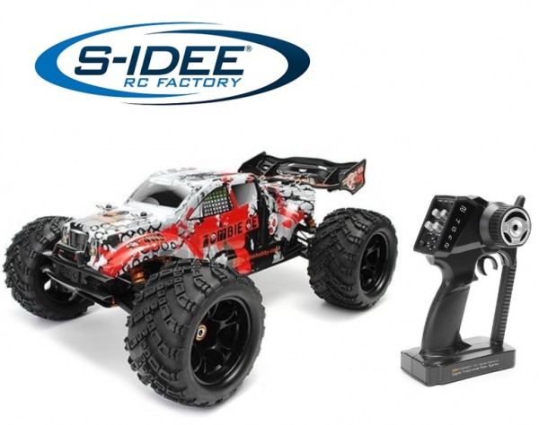 s-idee® 8384 Zombie RC Offroad Truggy mit 2,4 GHz 4WD