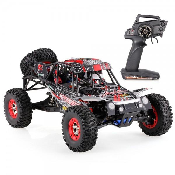 s-idee® 18113 12428-C RC Monstertruck 1:12 mit 2,4 GHz 50 km/h schnell,