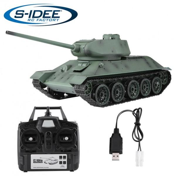 s-idee® 3909-1 Upgrade Version Sowjetischer T-34/85 Panzer 1:16