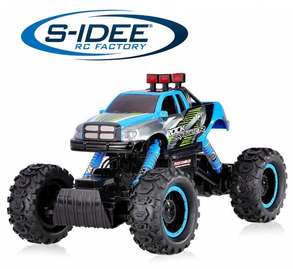 s-idee® 18153 Rock Crawler 1402 mit 2,4 GHz 4WD Buggy Monstertruck