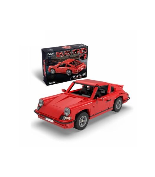 s-idee® Cada C61045W Bausteinfahrzeug Rennauto Sportscar