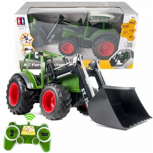 s-idee® S356-003 RC Traktor 1:16 mit 2,4 GHz ferngesteuert mit Frontlader