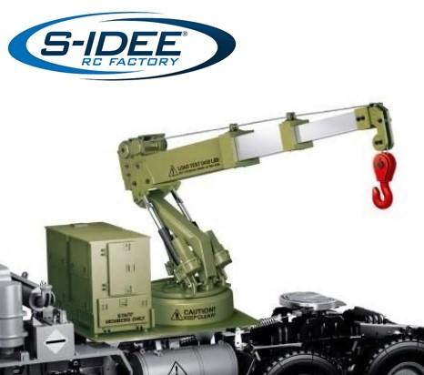 s-idee® HG-P803 Zubehör Kranaufbau 1/12 Hebekraft 1,2 kg 2,4 GHz