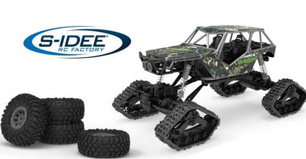 s-idee® HB-LD1003 1:14 Off-Road Crawler Rally-Car mit 2,4 GHz 4WD