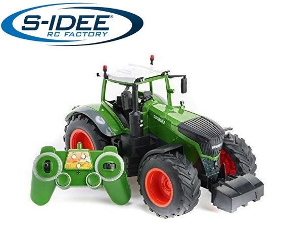 s-idee® S351-003 RC-Traktor 1:16 mit 2,4 GHz Licht, Sound und Demofunktion