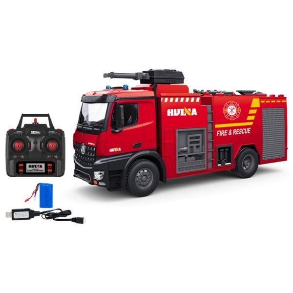 s-idee® S1562 Rc Feuerwehr Löschfahrzeug 1:14 Lkw 12 Kanal Huina 1562