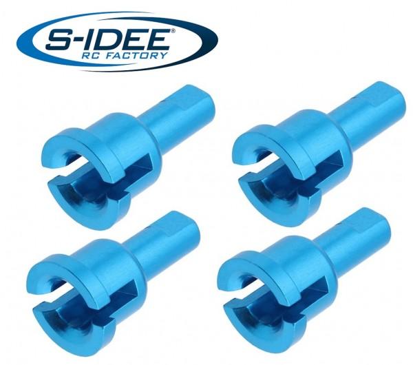 s-idee® Aluminium Lagerbuchse Differentialschale Zubehör Ersatzteil für RC-Modell A959 A959-A A959-B