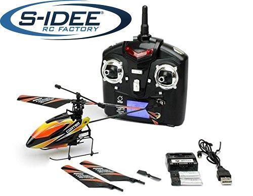s-idee® 01140 | V911 4.5 Kanal 2,4 Ghz Heli Hubschrauber RC ferngesteuerter Hubschrauber/Helikopter/