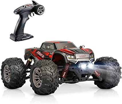 s-idee® 18240 High Speed RC Auto 9145 rot mit 2,4 GHz bis 28 km/h 1:20 Buggy RTR