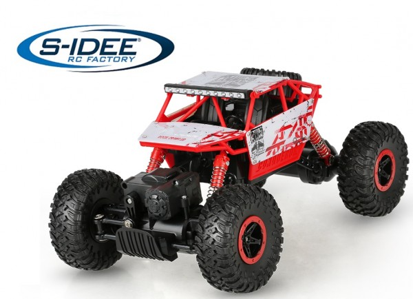 s-idee® 18132 Rock Crawler P1801 mit 2,4 GHz 4WD Buggy Monstertruck