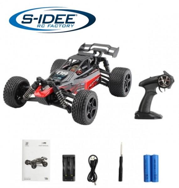 s-idee® G171 RC High Speed Car 1:16 mit 2,4 GHz 4WD 36 km/h