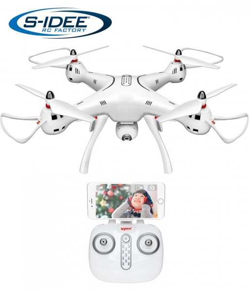 s-idee® 17129 X8pro gps Wifi Rc Drohne Hd Kamera Fpv Rc Quadrocopter Höhenstabilisierung One Key Ret