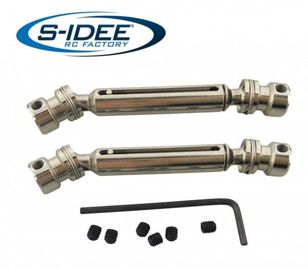 s-idee® Antriebswelle Zubehör Ersatzteil für RC-Modell 12428, 12428-B, 12428-C