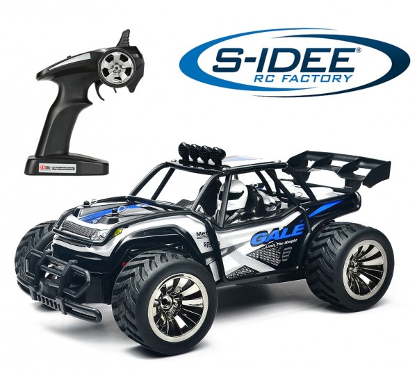 s-idee® 18162 1/16 2WD Brushed High Speed RC Monster Truck RTR 2.4GHz BG1512