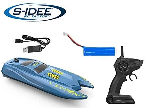 s-idee® H126 RC Boat ferngesteuertes Boot 2,4 GHz 10 km/h
