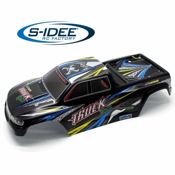 s-idee® 25-SJ02 Zubehör Ersatzteil Verkleidung für RC-Modell S9125 1:10 blau