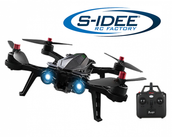 s-idee® Bugs6 Drohne Brushless Motoren MJX Serie Quadrocopter Control Distance, bis zu 15 min