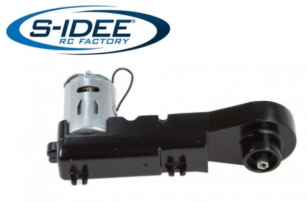 s-idee® Kettengetriebe Vollmetall Bagger 1:14 Huina 1580 580 Metallbagger