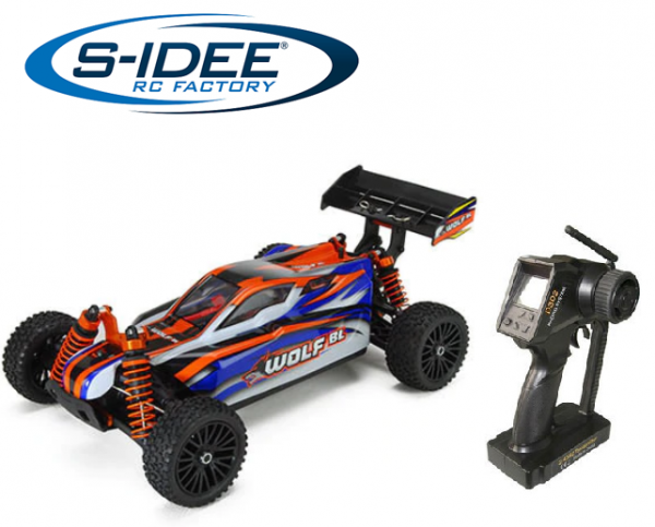 s-idee® 8131 Wolf BL RC Brushless Offroad Buggy mit 2,4 GHz