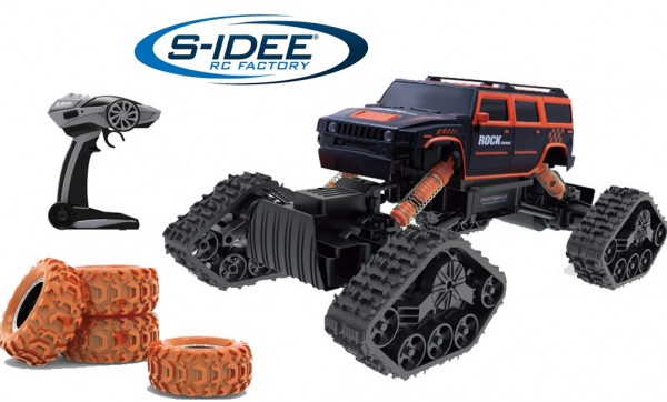 s-idee® HB-LD1403 1:14 Off-Road Crawler Rally-Car mit 2,4 GHz 4WD