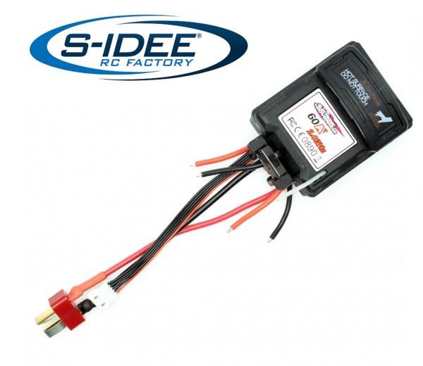 s-idee® 25-ZJ07 Zubehör Ersatzteil Elektronischer Geschwindigkeitsregler für RC-Modell S9125 18173 1