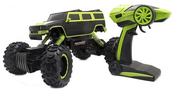 s-idee® 18154 Rock Crawler 1403 mit 2,4 GHz 4WD Buggy Monstertruck-Copy