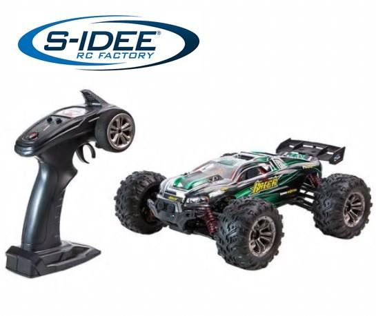 s-idee® 9136 ferngesteuerter RC Monstertruck Rock Crawler 1:16 grün