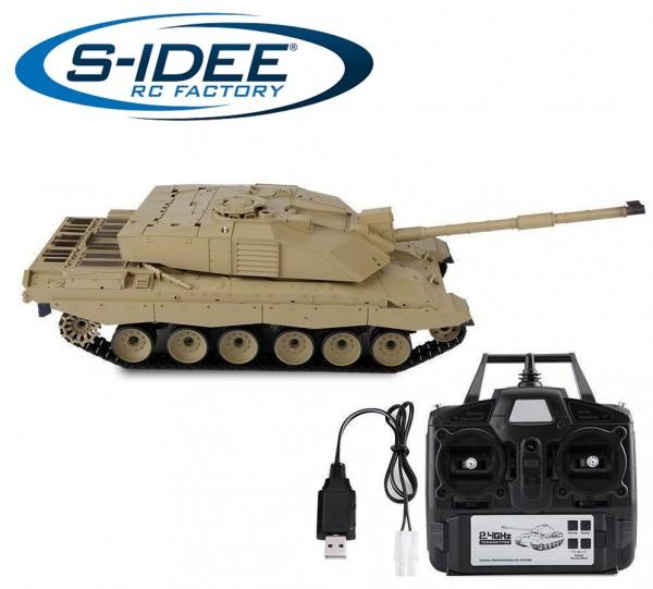 s-idee® 3908-1 Upgrade Version U.K. Challeneger Panzer 1:16