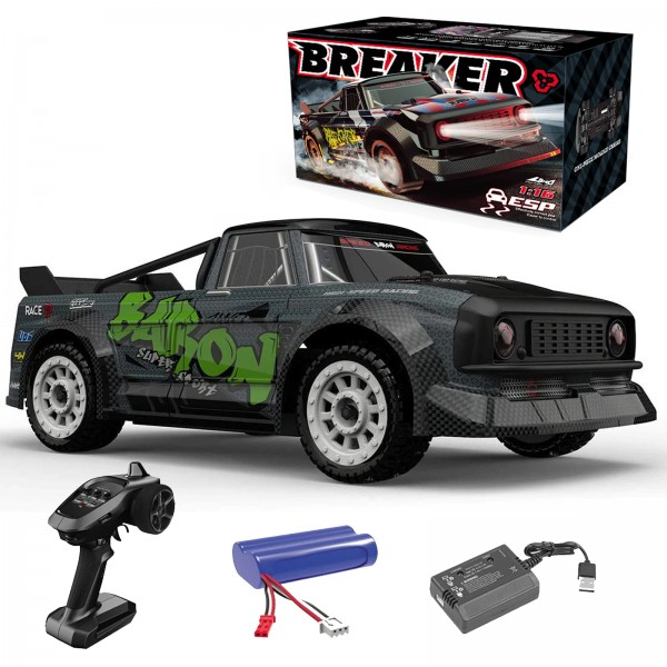 s-idee® S1603 Rtr Rc Racing Autos 1/16 2,4g 4wd 30 km/h Rc Auto Led Licht Drift proportionale Steuer