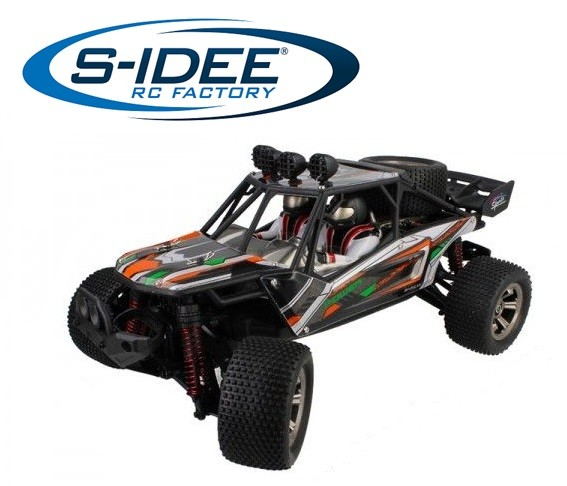 s-idee® 18247 RC Buggy Monstertruck 9121 1:12 mit 2,4 GHz