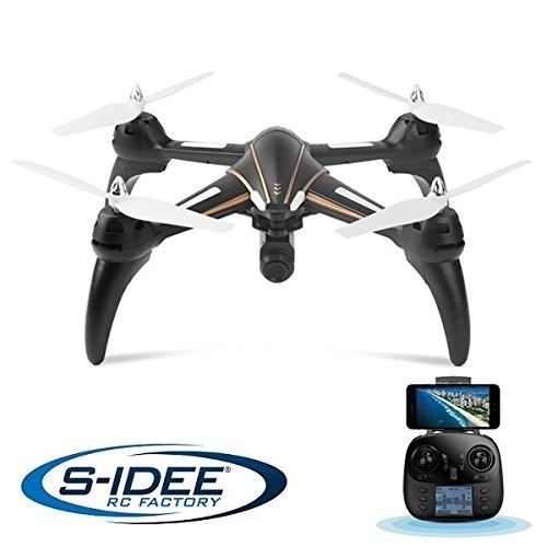 s-idee® 17106 S393 Wifi Drohne HD Kamera FPV Quadrocopter Höhenstabilisierung, One Key Return, Comin