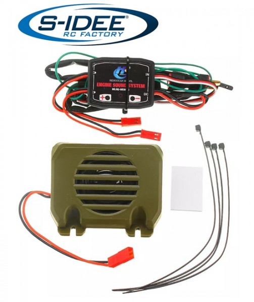s-idee® 18207 Sound System Zubehör Ersatzteil für RC-Modell S801 S802