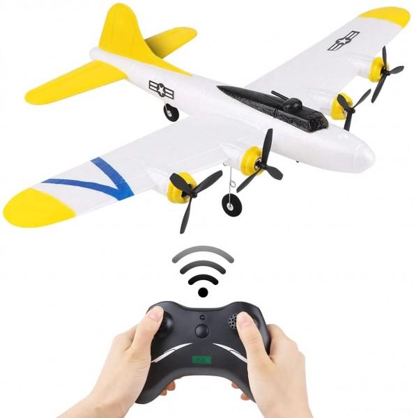 s-idee® FX817 Flugzeug RC ferngesteuerter Flieger mit 2.4 Ghz