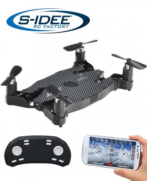 s-idee® H49 RC Quadrocopter mit Wifi Übertragung, Rc Drohne mit Höhenstabilisierung