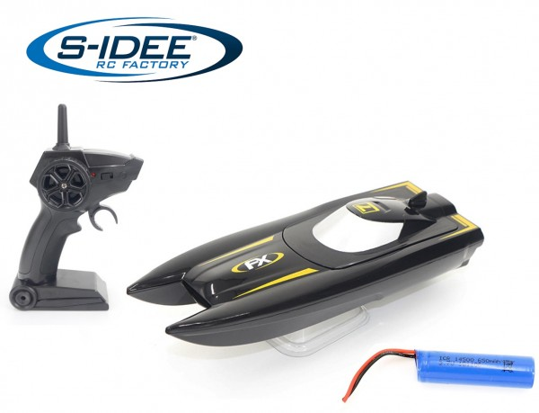 s-idee® H118 RC Boat ferngesteuertes Boot 2,4 GHz 10 km/h