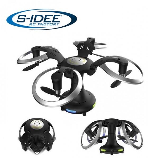 s-idee® S415 Quadrocopter mit Headlessmode, Wifi, Kamera u.v.m.