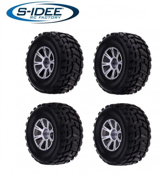 s-idee® Reifen Zubehör Ersatzteil für RC-Modell A959 A959-A A959-B A979-B