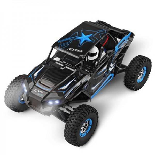 s-idee® 18112 12428-B RC Monstertruck 1:12 mit 2,4 GHz 50 km/h schnell, wendig, voll digital proport