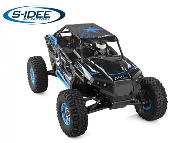 s-idee® WL 10428B RC Monstertruck 1:10 mit 2,4 GHz 30 km/h schnell Truggy Auto