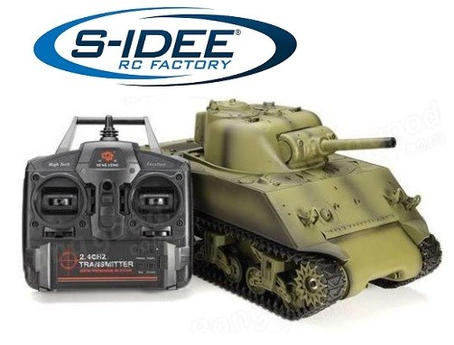 s-idee® 3898-1 Upgrade Version USA M4 A3 Sherman Panzer 1:16