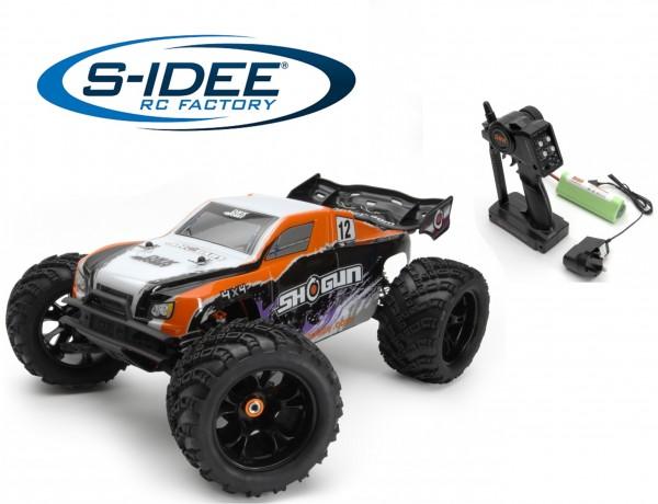 s-idee® 8385 Shogun RC Monstertruck mit 2,4 GHz 4WD