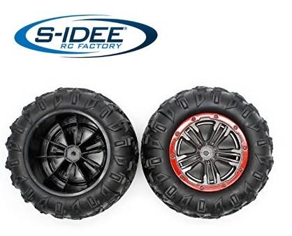 s-idee® 25-ZJ02 Zubehör Ersatzteil Reifen für RC-Modell S9125 18173 1:10