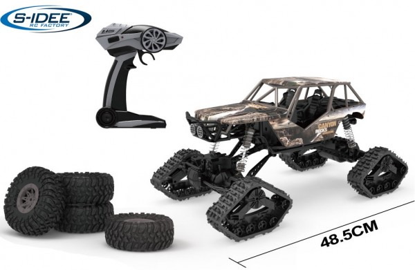 s-idee® HB-LD1001 1:10 Off-Road Crawler Rally-Car mit 2,4 GHz 4WD