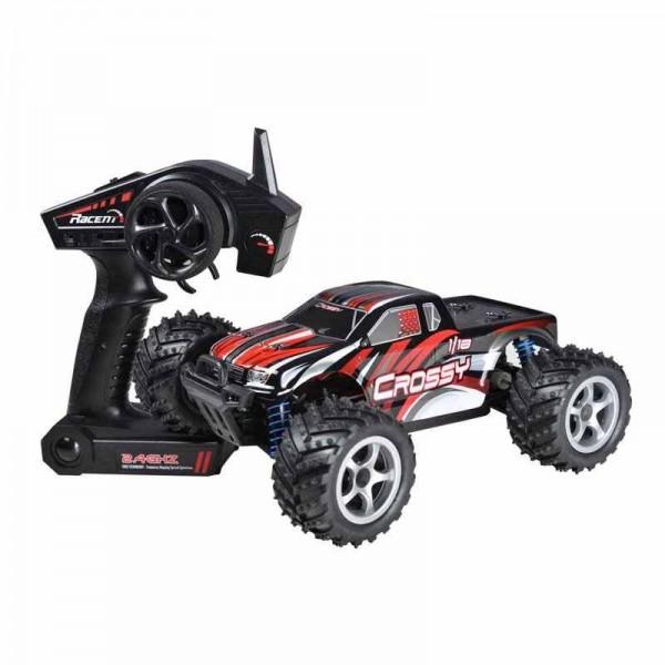 s-idee® 785-1 RC 4 WD Auto Buggy Monstertruck 1:18 mit 2,4 GHz 40 km/h schnell wendig voll digital